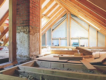 Rénovation et entretien de toiture