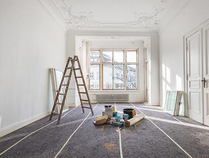 Rénovation intérieure de plafonds