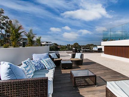 Pose de toit terrasse